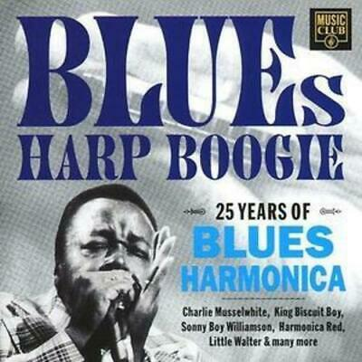 Various Artists : Blues Harp Boogie CD (1993) Expertly Refurbished Product