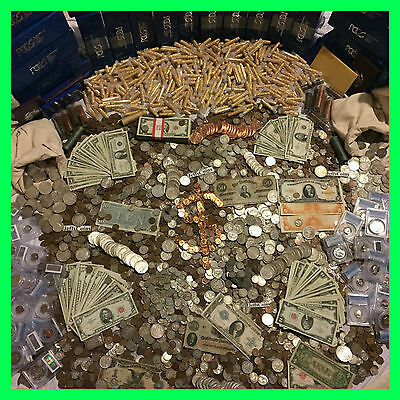 ✯Estate Sale Old Us Coins $✯ Gold .999 Silver Bullion✯Gems✯Pcgs Money Hoard Lot✯