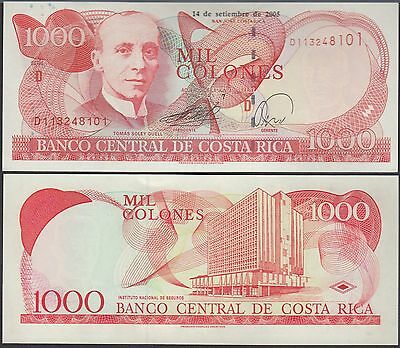 Costa Rica 1000 Colones 1975-85 P250 Back Photographic Proof Uncirculated Costa Rica North & Central America