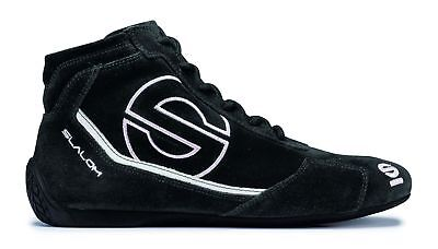 Shoes Sparco Slalom RB-3 FIA BLACK Suede Boots Race Racing Rally Driving