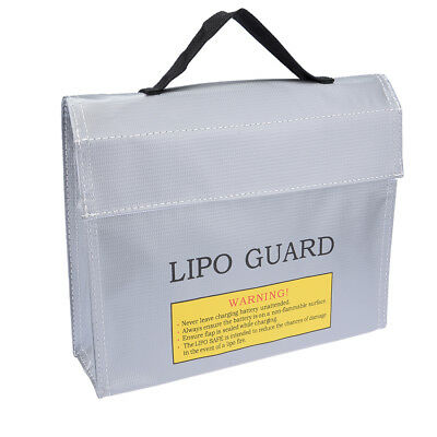 Lipo Battery Fireproof Bag Storage Guard Safe Charging Holder 215mmx45mmx165mm