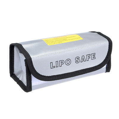 Lipo Battery Fireproof Bag Storage Guard Safe Charging Holder 185mmx75mmx60mm