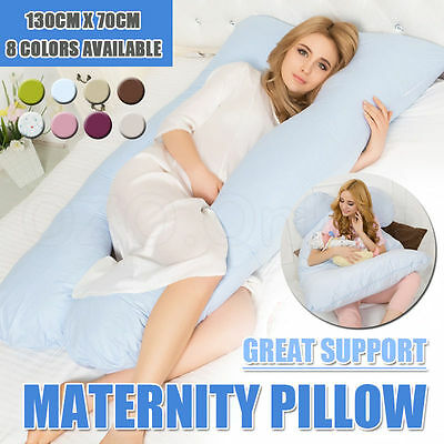 Maternity Pillow Pregnancy Nursing Sleeping Body Support Feeding Boyfriend Women
