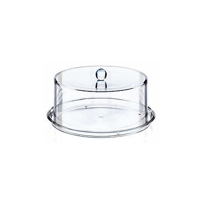 Patience Acrylic Cake Dome with Base Display Stand 345mm x 180mm transparent
