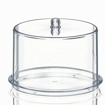 XL Tall Patience Cake Dome With Base Cake Stand Display Extra Large Acrylic