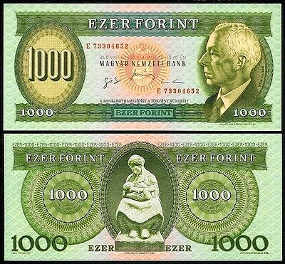 HUNGARY 1000 FORINT 1996E P176c UNCIRCULATED