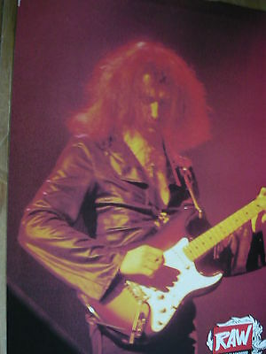 Ritchie Blackmore - Magazine Cutting (Full Page Photo) (Ref W15)