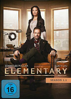 Elementary - Staffel/Season 1.1 # 3-DVD-BOX-NEU