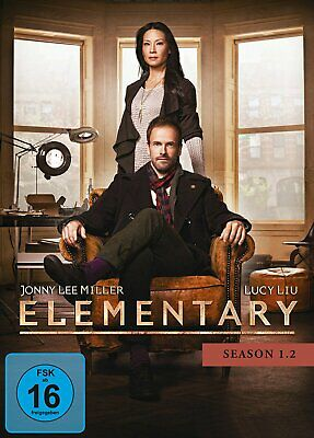 Elementary - Staffel/Season 1.2 # 3-DVD-BOX-NEU