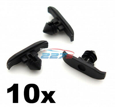 10x Rubber Bonnet Seal Clips for Volkswagen VW- Hood weatherstrip seal clips