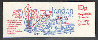 FA11a Jan 1980 - 1980 London Stamp Exhibition Folded Booklet - good perfs