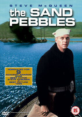 The Sand Pebbles DVD (2002) Steve McQueen, Wise (DIR) cert 15 Quality guaranteed