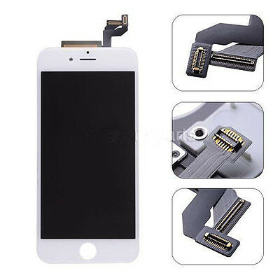 """New White Touch Digitizer LCD Display Screen Assembly + Frame for iPhone 6S 4.7"""""""