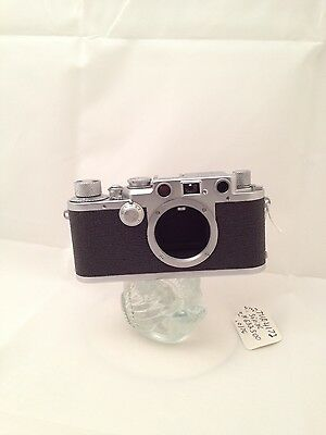 "Leica IIIf   35mm  ""Red Dial"" Rangefinder  Camera serial # 632500"