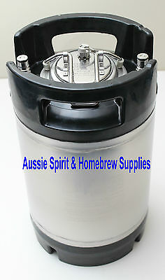 BRAND NEW Party Ball Lock 2.5 Gallon US Keg Great for Home Brew Beer Kegging