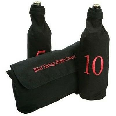 Blind Wine Tasting Covers Bags Numbered 1 - 10 Ideal For Parties & Events