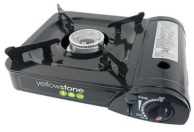 Camping Stove Lightweight portable gas, butane with carry case