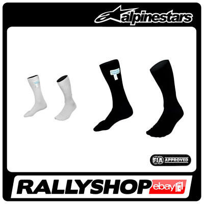 Alpinestars RACE SOCKS  underwear FIA Black White NOMEX Sport Racing Rally