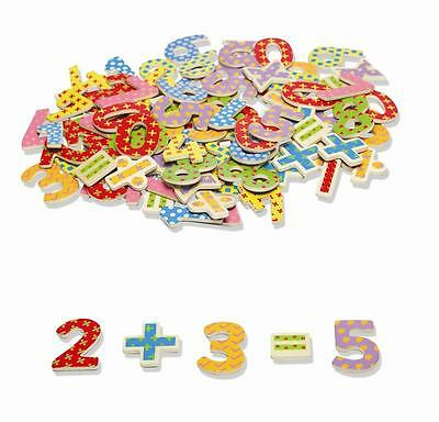 NEW Wooden Magnetic Numbers 100 pieces TIDLO/John Crane Educational Toy Boxed