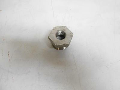"Stainless Steel Bushing Reducer TC-304 1 1/4""x1/2"" NPT Pipe"