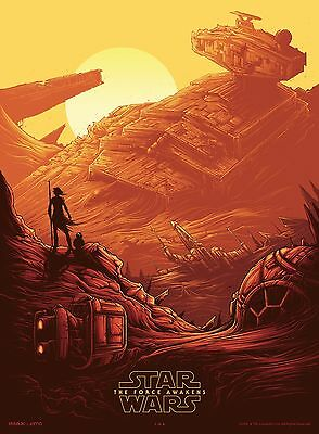 Star Wars the Force Awakens IMAX Poster by Dan Mumford