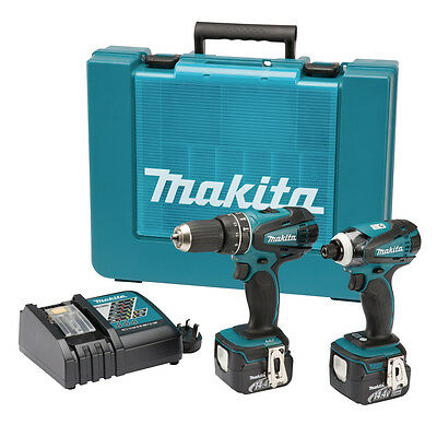 Makita DK1489S NEW 14.4v Twin Pack Combi Drill / Impact Screwdriver BODIES ONLY