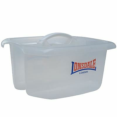 Lonsdale Boxing Martial Arts Combat Sports Pro Corner Man Tote Bucket White OS