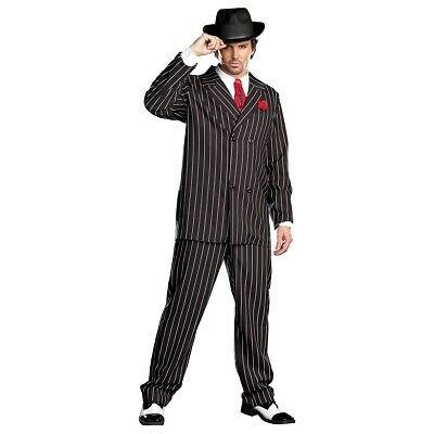 Gangster Costume Adult Al Capone Halloween Fancy Dress  sc 1 st  PicClick & GANGSTER COSTUME ADULT Al Capone Halloween Fancy Dress - $51.95 ...
