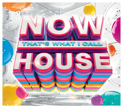 Various Artists : Now That's What I Call House CD 3 discs (2015) Amazing Value