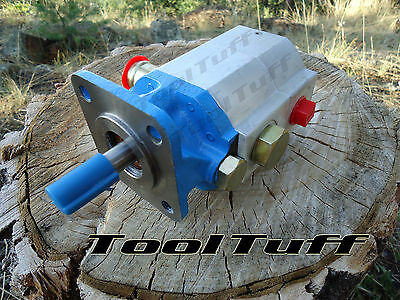 11 GPM Hyd. Log Splitter Pump, 2 Stage Hi Lo Gear Pump, COUNTER CW ROTATION