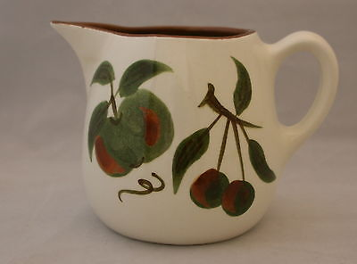 Vintage Stangl Pottery Orchard Song Pattern Large Pitcher