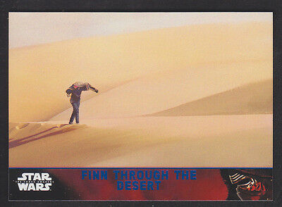 Topps Star Wars - The Force Awakens - Blue Parallel Card # 87
