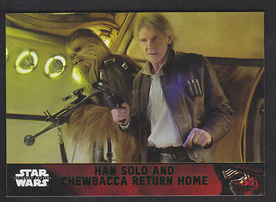 Topps Star Wars - The Force Awakens - Green Parallel Card # 100