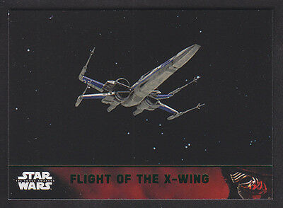 Topps Star Wars - The Force Awakens - Green Parallel Card # 61