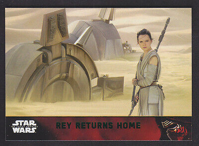 Topps Star Wars - The Force Awakens - Green Parallel Card # 73