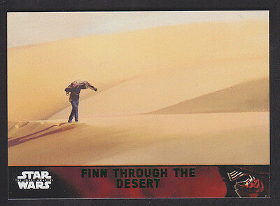 Topps Star Wars - The Force Awakens - Green Parallel Card # 87