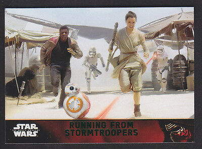 Topps Star Wars - The Force Awakens - Green Parallel Card # 89