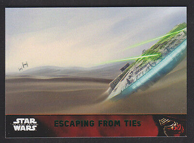 Topps Star Wars - The Force Awakens - Green Parallel Card # 93