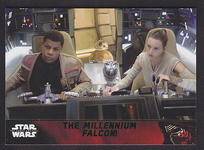 Topps Star Wars - The Force Awakens - Green Parallel Card # 97