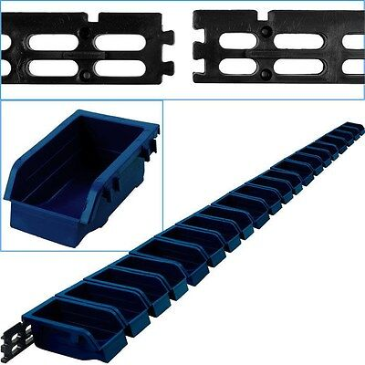 Wall Mounted Parts Rack - 40 Bins Stackable Nuts Bolts Crafts Hobby Storage Bins