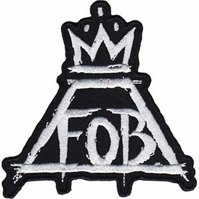 Fall Out Boy - Crown Logo - Embroidered Patch - Brand New - Music Band 4414