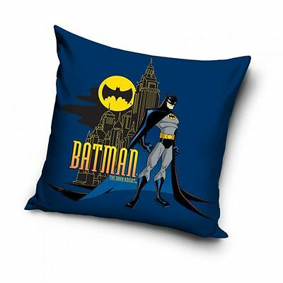 Batman Filled Cushion Kids Bedroom 100% Cotton Cushion Cover New Free P+P