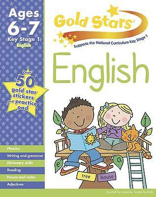 Gold Stars KS1 English Workbook Age 6-7 includes over 50 Gold stars