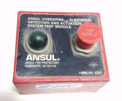 Ansul Fire Protection Checkfire Electrical Detection System Test Module *pzb*