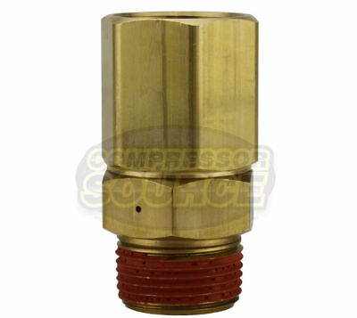 "PA-24 Load Genie Brass Air Compressor 1/2"" Self Unloading Check Valve Unloader"