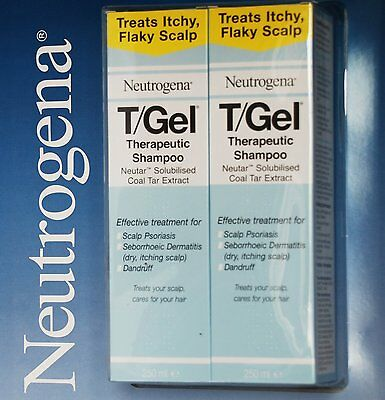 NEW!! Neutrogena T/GEL Therapeutic Shampoo 2 x 250ml