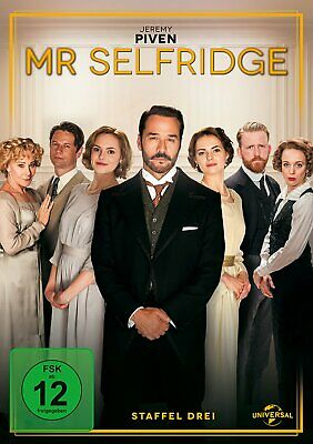 Mr. Selfridge - Die komplette Season/Staffel 3 # 3-DVD-BOX-NEU