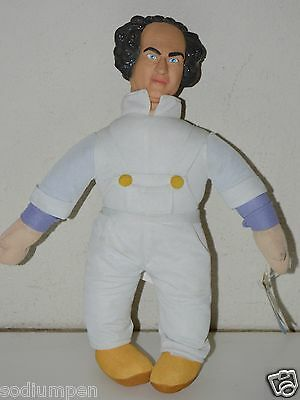 "Vintage Three Stooges Larry Funny Plush 14"" NASA Astronaut Doll  Kids Toy RARE"