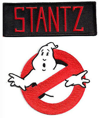 Ghostbusters  + STANTZ - Uniform Kostüm Patch - Aufnäher Set neu