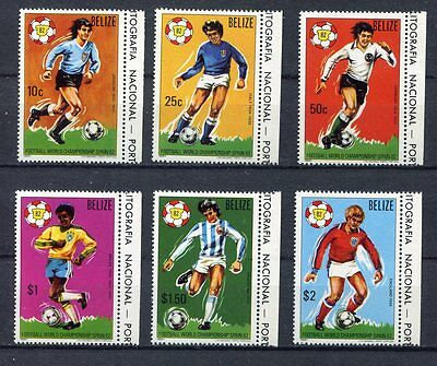 s5521)BELIZE 1982 MNH* World Cup Football 1982 -Coppa del Mondo Calcio 6v.